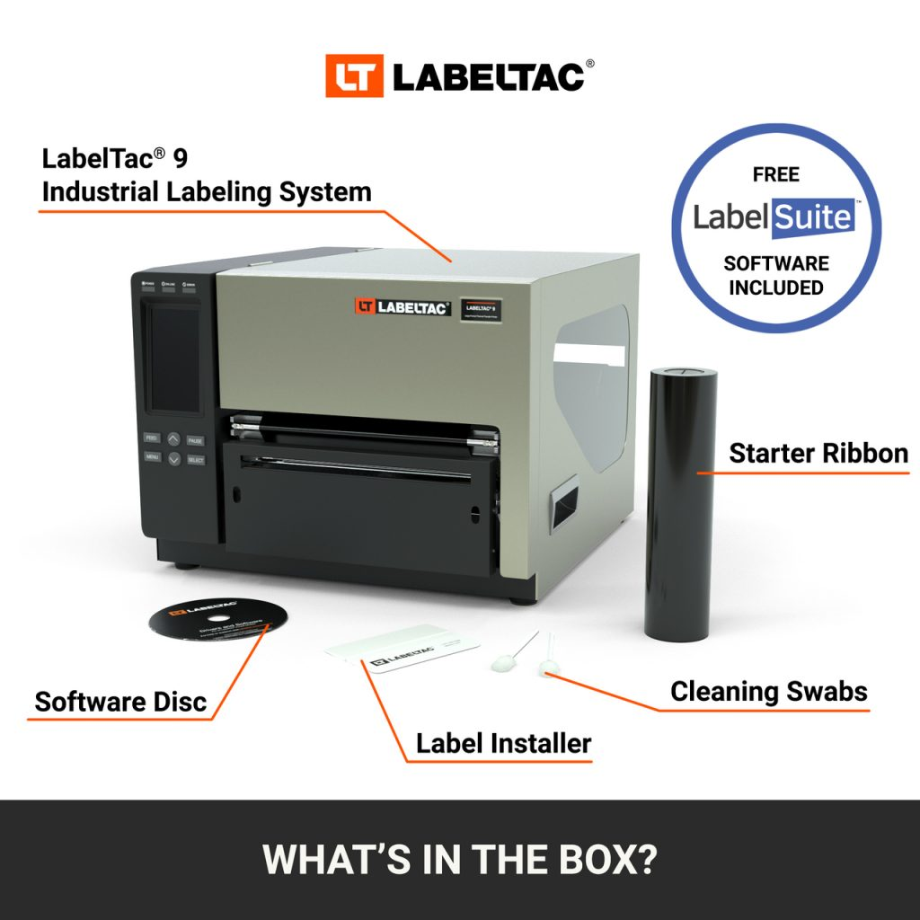 LabelTac 9 Industrial Labeling System: What's in the Box?